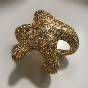 Lilly Pulitzer Gold Starfish Cuff
